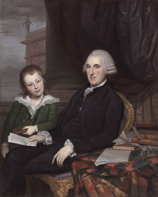 Chief Justice Thomas McKean and His Son, Thomas McKean, Jr.